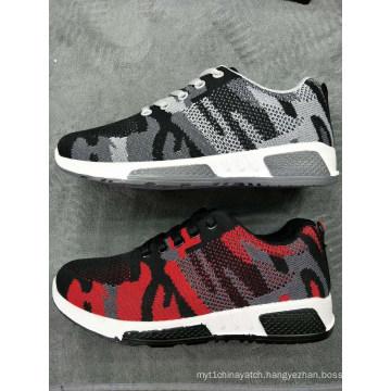 Stock Women Flyknit Export Hot Sports School Men Shoes