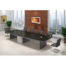 Table de réunion de salle de conférence en rectangle en bois (HF-FHY1001)