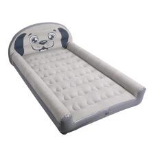 Aufblasbares Reisebett für Kleinkinder mit Patent für Sicherheitspuffer