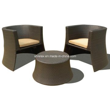 Ensemble de Patio Jardin rotin chaise Bistro extérieur en osier meubles