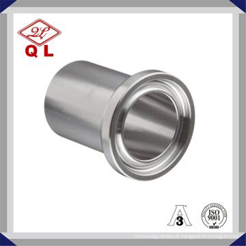 Sanitária aço inoxidável solda Ferrule Ss304 Ss316L