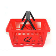 Cesta de compras de supermercado Cesta de compras de colores