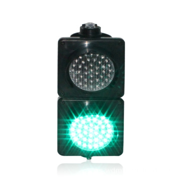 Inteligente Rojo Verde 100mm Led Semáforo