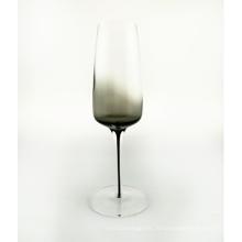 Бокал для шампанского дымчато-серого цвета