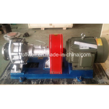 Serie RY bomba de aceite caliente de acero inoxidable refrigerado por aire