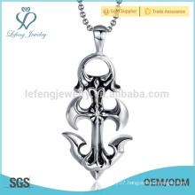 Good quality orthodox coptic cross pendant,unique cross silver om pendant