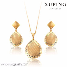63793-Xuping Earrings Pendant Set 2-Piece Jewelry Sets With Stainless Steel