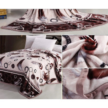 Atacado de alta qualidade rotary imprime flanela velo cobertor