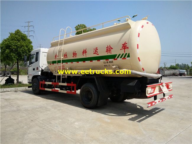 Bulk Cement Delivery Tank Trucks