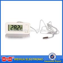 Termómetro digital con humedad Medidor de temperatura digital Termómetro interior y exterior TM-2D