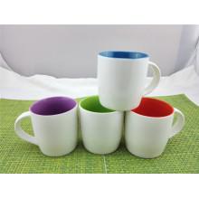 Tasse de café en céramique émaillée à l'intérieur de Hotsale