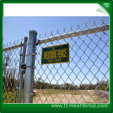 HDG steel galvanized cyclone fence