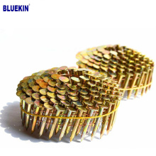 Galvanized Smooth Shank Diamond Point 1 1/4 Coil Roofing Nails