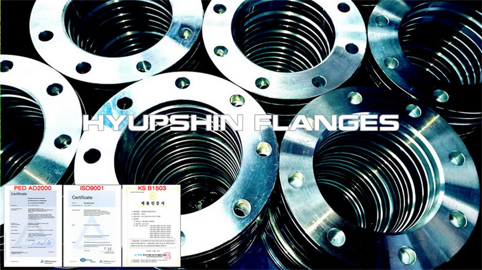 Hyupshin Flanges Cold Galvanizing