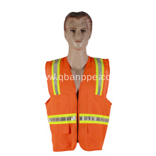 Special design PVC tape reflective safety vest
