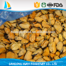 fully cooked IQF Mussel Meat or Half Shell