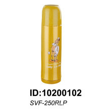 Frasco de vacío con aislamiento de pared doble de acero inoxidable 18/8 Svf-250rlp