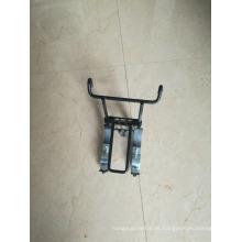 Alta calidad Hangzhou Fábrica de metal de alambre Bicicleta cesta titular