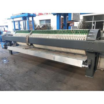 Abwasserbehandlung Hydraulische Filterpresse mit großer Kapazität
