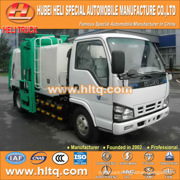 JAPAN technology 4x2 120hp side loading garbage truck