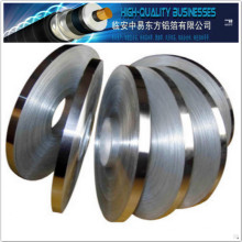 Courroie stratifiée en film polyester en polycarbonate en aluminium pour le blindage des câbles