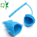 Fish Shape Silicone Reusable Cute Strainers Filter Diffuser