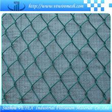 Clôture en acier de fil de maillon de chaîne avec le rapport de GV