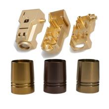 Custom Machining Service Made cnc Brass Copper Parts