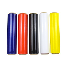 Customized Pallet Packaging Wrapping Color Stretch Film Price Per KG PE Roll Film