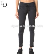 Confortável costume impresso ginásio senhora esporte calças