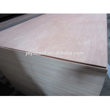 Okoume plywood with hardwood core