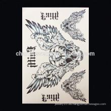 OEM Venta al por mayor ala de pánico tatuaje banda brazo tatuajes famosos brazo banda tatuaje W-1007