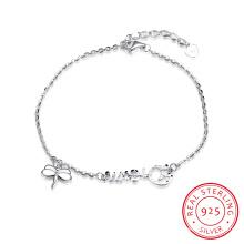 925 Sterling Stahl Armband Traum heiße Verkauf Libelle Form Anhänger Armband Sterling Silber Schmuck