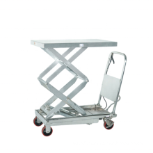 Xilin 350kg 770lbs Portable Manual Hydraulic Stainless Steel Lift Table