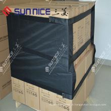Protetores de empacotamento da pálete plástica da tampa de transporte da pálete