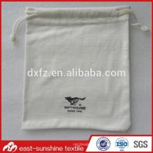 Малые мешки drawstring, изготовленный на заказ полный логос выбитый тиснением microfiber стекел чистки мешок мешка ткани