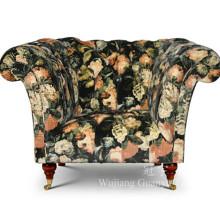 A tela home do velo de matéria têxtil para o sofá cobre a decoração