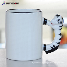 Sublimation tasse blanche animale cheval
