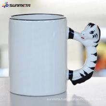 sublimation Animal blank mug horse