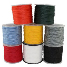 Hollow braided polypropylene floating rope 1/4''x100'