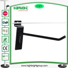 Étiquette de prix Porte-Hanging Crochet d'affichage pour Slatwall