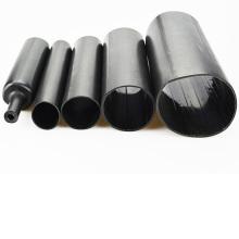 Tube thermorétractable rayé adhésif moyen de mur anti-uv de mur moyen