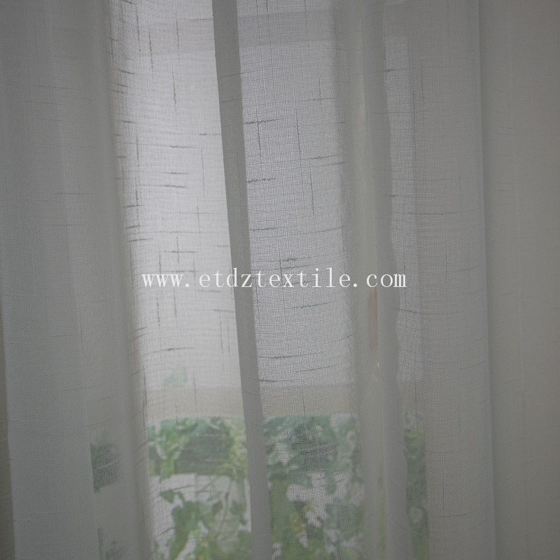 Polyester Sheer Curtain Fabric