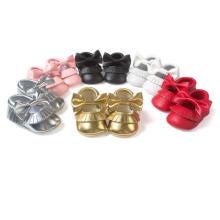 Cute Bow Hollow Design Baby Princess Casual sapatos