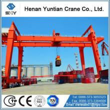 Grue de portique de conteneur montée par rail de RMG 50 tonnes pour le prix bon marché dans le port
