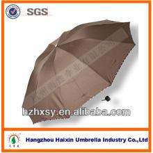 10ribs Falten Regen Unbrella mit guter Qualität Rahmen