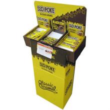 Karton Dumpbin Display, Werbeanzeige für Bücher