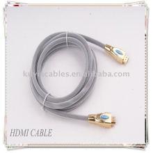 Câble HDMI 1.4v de vente chaude pour HDTV