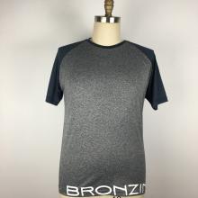 Homme T-shirt ajusté à séchage rapide Entraînement de sport