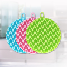 Éponge à vaisselle en silicone Magic Scrubber Kitchen Bowl